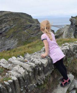 Tintagel Castle en de Noordkust van Cornwall