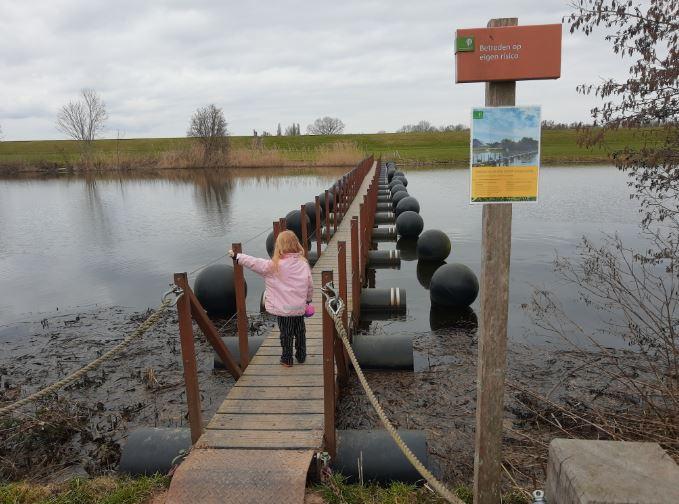 Drijfbrug Infocentrum Den Nul
