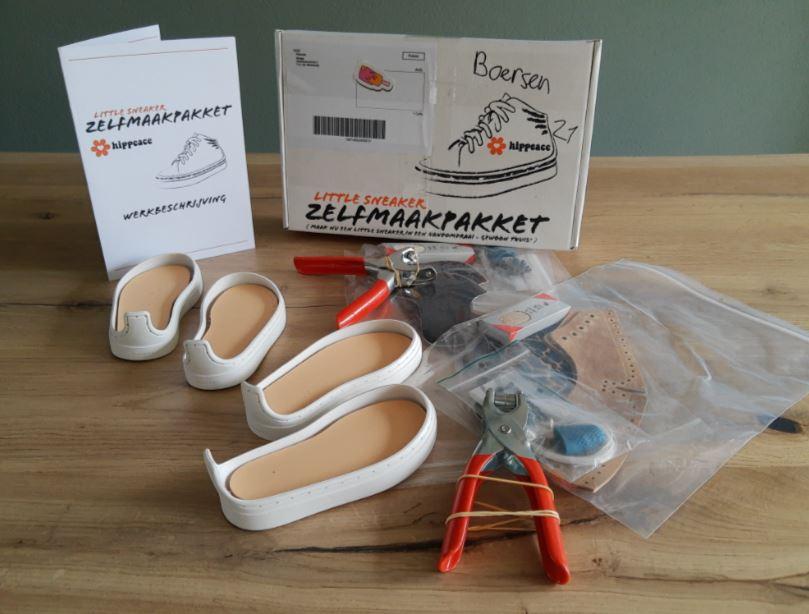 Zelfmaakpakket Maat 21 schoenen