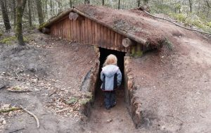 Verscholen hutten
