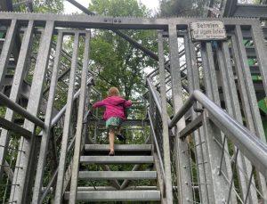 naar boven klimmen